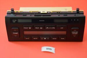 H#2 98-00 Lexus LS400 AC Heater Temperature Climate Control  Module 146430-6485