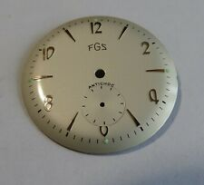 Piece Watchmaking Watch Dial Curved Grey Diameter 1 3/16in Cal: AS 101/2 1690