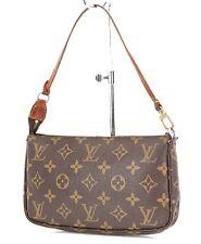 Authentic LOUIS VUITTON Accessory Pochette Monogram Handbag #36477