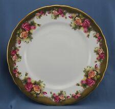 Royal Chelsea Golden Rose Dinner Plate