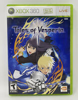 Tales of Vesperia (Microsoft Xbox 360, 2008) Complete Tested Working