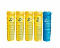 5 pack spa frog replacement cartridges 4 bromine 1 mineral Free Shipping