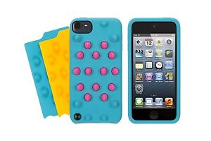 Griffin FunkyTouch for iPod touch 5th gen Blue / Pink/ Yellow