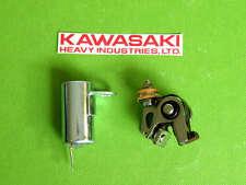 1969-88 Kawasaki CONDENSER & CONTACT POINTS KIT tune up kd100 ke100 ke125 kd125