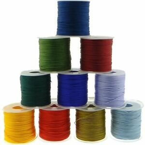Nylon Cord Plastic Spool String Strap Braid Knot Cords Necklace Bracelet Making