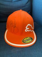 Rickie Fowler Signed Orange Puma Golf Hat JSA