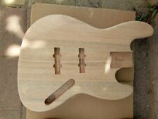 4 Strings Electric Bass Body, Mahogany, Without Paint Bass Guitar Body BJ-4