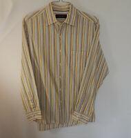Tasso Elba Mens Long Sleeve Oxford Casual Dress Shirt Size MEDIUM M
