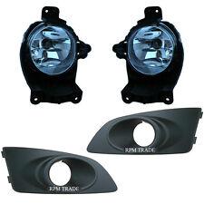 Genuine Fog Lamp Light& Cover Set for Chevrolet 11 12 13 2014 Aveo / Sonic Sedan