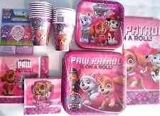 PAW PATROL GIRL Nick Jr. Birthday Party Supply SUPER Kit w/Balloons