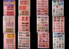 United States Stamp Collection Mix Numbered Blocks Blocks & US Postage Stamps