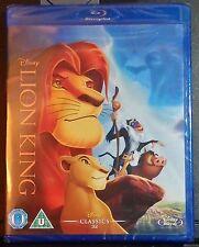 Disney The Lion King Blu-ray-NEW-Region Free UK Import-Animated Classic-w/Extras
