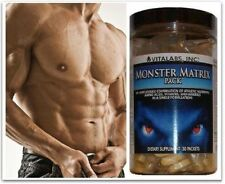 2x  Lean Muscle Matrix X Ripped Stack Pills Bodybuilding Growth  6 Six Pack Abs