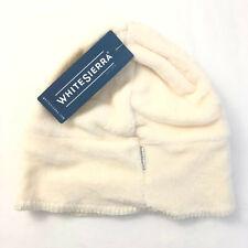 White Sierra Youth Kids Cozy Beanie Fleece Ivory Milky White S/M Unisex