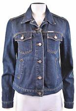 CALVIN KLEIN Womens Denim Jacket Size 16 Large Navy Blue Cotton  AH08