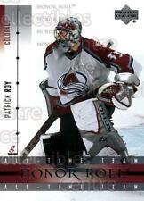 2001-02 UD Honor Roll #6 Patrick Roy