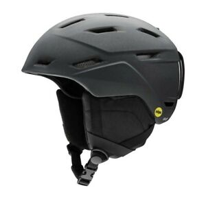 Smith Mission Ski Snowboard Helmet Unisex Adult Matte Black Pearl sz Small