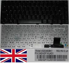 QWERTZ-TASTATUR UK ASUS V1 VX2S VX3 Serie V020462BK1 04GNGF1KUK01 Glänzend