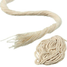 10M (33 ft) Braided Cotton Core Candle Making Wick for Oil or Kerosene Lamps