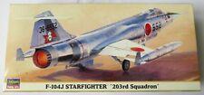 Hasegawa 1/72 Lockheed F-104J Starfighter 203rd Squadron Model Kit 00670 670