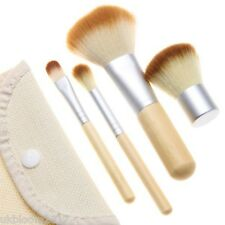 4 Pcs Makeup Brush Foundation Powder Brush Eye Shadow Cosmetic Makeup Tool Set