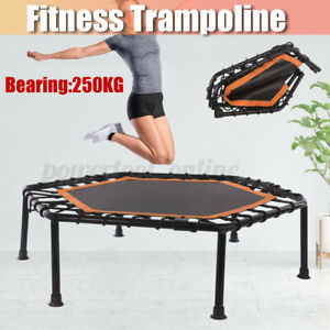 40'' Foldable Mini Fitness Exercise Aerobic Bouncer Trampoline Home Gym