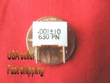 6 pcs - .001uf (0.001uf, 1nf) 630v metalized film poly capacitor FREE SHIPPING