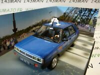 JB53H voiture 1/43 IXO 007 JAMES BOND  : renault 11 taxi a view to kill