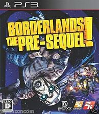 Used PS3 Border Lands The PRE-SEQUEL PLAYSTATION 3 SONY JAPAN JAPANESE IMPORT