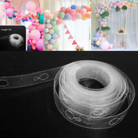 5m Balloon Chain Tape Arch Connect Strips for Wedding Birthday Party Decors