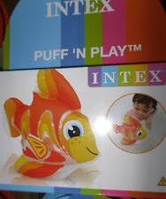 Aufblasbarer weicher Goldfisch * Intex * Badewanne - Wasserspiel - Tiere * Neu