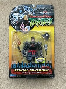 TMNT 2005 Ninja Turtles Enemies Feudal Shredder Action Figure Toy MOC Sealed