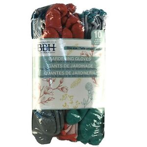 1600238 BBH Group, Gardening Gloves With Latex  Coating on Polyester Liner