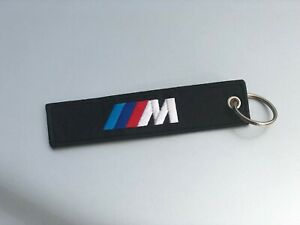 BMW M embroidered key chain