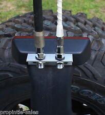 DUAL rear Antenna MOUNTING BRACKET ~ Fits: Jeep JK Wrangler