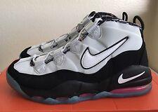 Nike Air Max Uptempo Black White LT Retro Pink Pow Men Sz 9 Pippen Tiempo NEW!!!