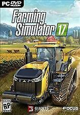 Farming Simulator 17 (PC, 2016) Opened but never used