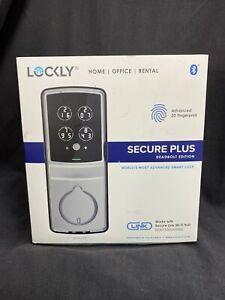Lockly Secure Plus PGD728F021382 Bluetooth Deadbolt Edition Satin Nickel