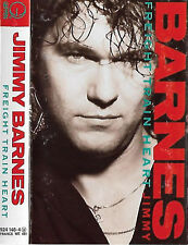 JIMMY BARNES FREIGHT TRAIN HEART CASSETTE ALBUM HARD ROCK ARENA ROCK COLD CHISEL