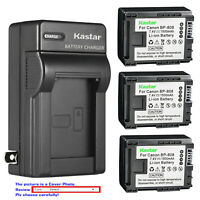 Kastar Battery Wall Charger for Canon BP-808 CG-800 Canon VIXIA HF M46 Camcorder
