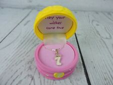 It's My Year Happy Birthday Child Necklace 7 Years Old Pendant Box Cake Jewels