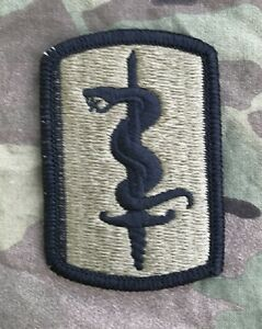 US ARMY 30th Medical Brigade USAREUR Multicam OCP Scorpion Klett patch