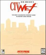 Sid MEIER'S CIVNET PC CD Original Zivilisation Multiplayer Versionsübersicht Spiel!
