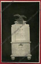 PAVIA SAN DAMIANO AL COLLE 04 MONDONICO - MONUMENTO CADUTI 1a GUERRA viagg. 1927