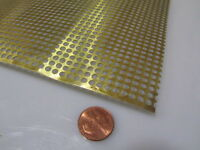 """Sheet 347 Perforated Stainless Steel 15/"""" X 12/"""" New AEROSPACE GRADE Material"""