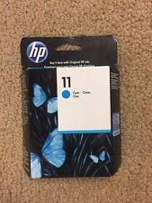 HP 11 Cyan C4836A- BRAND NEW SEALED BOX - TAKE A LOOK AT THIS ONE - WOW- 106