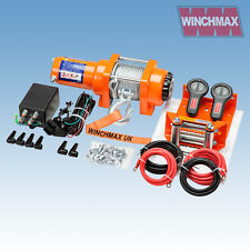 WINCHMAX ATV 3000LB 12V ELECTRIC WINCH
