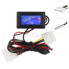Digital Thermometer Temperature Meter Ntc 10k Waterproof Metal Probe 50 110