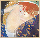 Art Nouveau Gustav Klimt Danae Giclee Fine Art Print Repro on Canvas