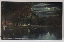 Carlisle Pa, Boiling Springs by Night Near Carlisle c1907 Postcard C7